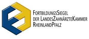 Fortbildungssiegel der Landes-Zahnärztekammer Rheinland Pfalz